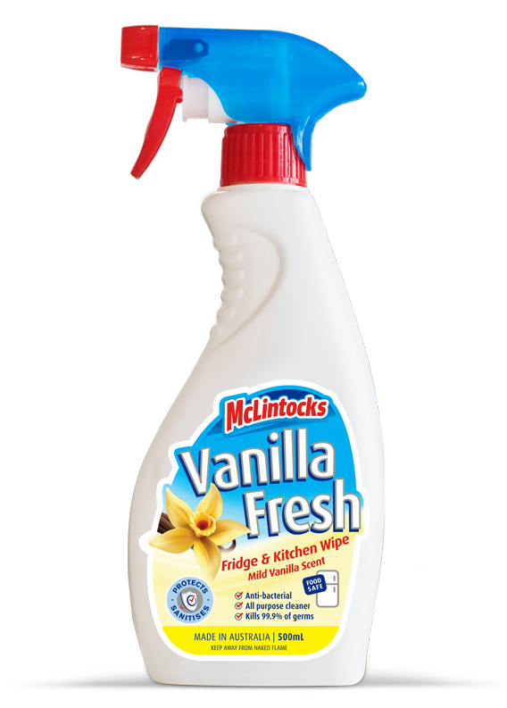 Vanilla Fresh Mclintocks Vanilla Fresh Fridge And